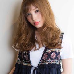 大人かわいい ナチュラル ゆるふわ 外国人風 ヘアスタイルや髪型の写真・画像
