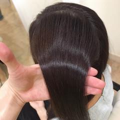 イルミナカラー トリートメント うる艶カラー エレガント ヘアスタイルや髪型の写真・画像