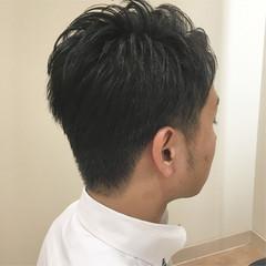 メンズカット メンズショート ツーブロック 刈り上げ ヘアスタイルや髪型の写真・画像