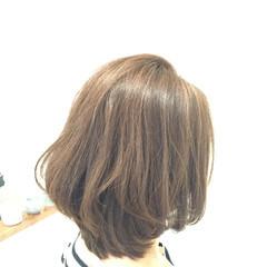 大人かわいい ナチュラル グラデーションカラー セミロング ヘアスタイルや髪型の写真・画像