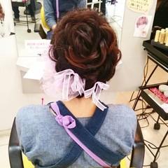 ゆるふわ ロング 着物 和装 ヘアスタイルや髪型の写真・画像