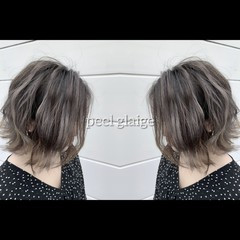 外国人風カラー イルミナカラー グラデーションカラー 3Dハイライト ヘアスタイルや髪型の写真・画像