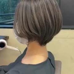 ハイライト 外国人風 バレイヤージュ エレガント ヘアスタイルや髪型の写真・画像