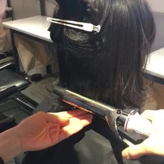 ワンカール 巻き髪 ナチュラル 黒髪 ヘアスタイルや髪型の写真・画像