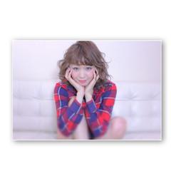 ミディアム レイヤーカット ゆるふわ 大人かわいい ヘアスタイルや髪型の写真・画像