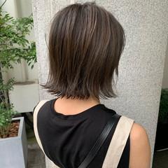 ナチュラル ショートヘア ボブ ベリーショート ヘアスタイルや髪型の写真・画像