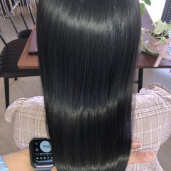 セミロング 縮毛矯正 美髪 髪の病院 ヘアスタイルや髪型の写真・画像