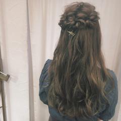 ヘアアレンジ ショート 編み込み 簡単ヘアアレンジ ヘアスタイルや髪型の写真・画像