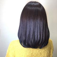 ボブ ワンカール ミディアム ベージュ ヘアスタイルや髪型の写真・画像