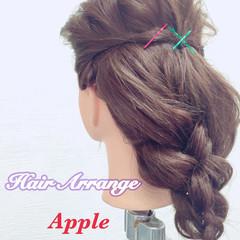 ゆるふわ ショート 簡単ヘアアレンジ ヘアアレンジ ヘアスタイルや髪型の写真・画像