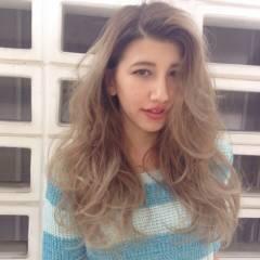 グラデーションカラー ウェットヘア 外国人風カラー ストリート ヘアスタイルや髪型の写真・画像