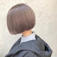 ボブ ストリート 外国人風カラー バレイヤージュ ヘアスタイルや髪型の写真・画像