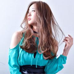ロング 愛され かっこいい フェミニン ヘアスタイルや髪型の写真・画像