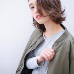外国人風 アッシュ モード 暗髪 ヘアスタイルや髪型の写真・画像