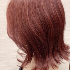 ガーリー インナーカラー ウルフカット グレージュ ヘアスタイルや髪型の写真・画像