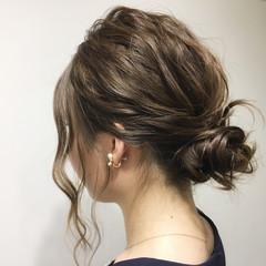 デート 女子会 ナチュラル セミロング ヘアスタイルや髪型の写真・画像