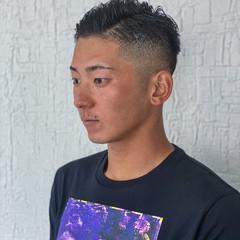 ショート メンズヘア ストリート フェードカット ヘアスタイルや髪型の写真・画像