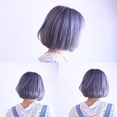 外国人風カラー ストリート ボブ ショート ヘアスタイルや髪型の写真・画像