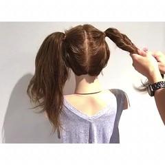 デート ヘアアレンジ 色気 涼しげ ヘアスタイルや髪型の写真・画像
