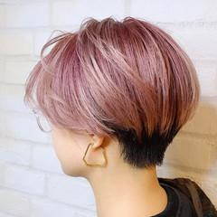 モード ミニボブ ショートボブ ショート ヘアスタイルや髪型の写真・画像