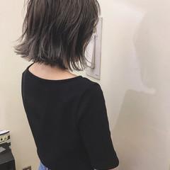 大人かわいい ブリーチ ハイライト アンニュイ ヘアスタイルや髪型の写真・画像