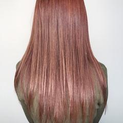 透明感 ロング ラベンダー 外国人風カラー ヘアスタイルや髪型の写真・画像