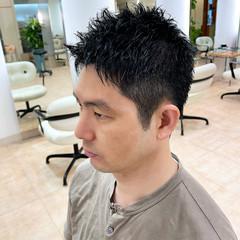 メンズ 刈り上げ ショート ツーブロック ヘアスタイルや髪型の写真・画像