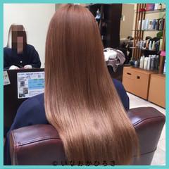 外国人風 ガーリー ブラウン 大人女子 ヘアスタイルや髪型の写真・画像