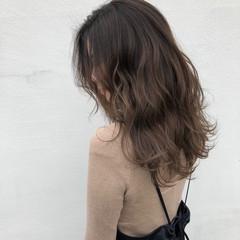 ナチュラルベージュ 外国人風カラー 圧倒的透明感 ロング ヘアスタイルや髪型の写真・画像
