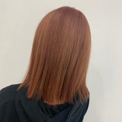 ブリーチ ベージュ N.オイル ピンク ヘアスタイルや髪型の写真・画像