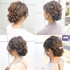 簡単ヘアアレンジ ロング デート ヘアアレンジ ヘアスタイルや髪型の写真・画像