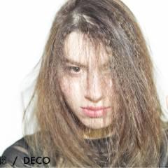 モード かっこいい セミロング カール ヘアスタイルや髪型の写真・画像