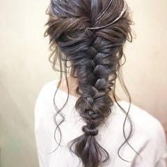 オフィス パーティ フェミニン お呼ばれ ヘアスタイルや髪型の写真・画像