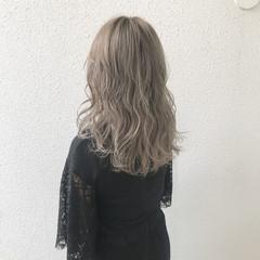ハイトーン ハイライト 外国人風 ガーリー ヘアスタイルや髪型の写真・画像
