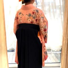 ヘアアレンジ ロング ガーリー 成人式 ヘアスタイルや髪型の写真・画像