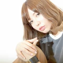 フェミニン コンサバ モテ髪 大人かわいい ヘアスタイルや髪型の写真・画像