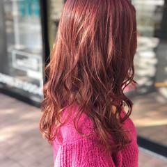 バレンタイン ヘアアレンジ 愛され フェミニン ヘアスタイルや髪型の写真・画像