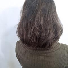 ボブ ブルージュ 大人かわいい ナチュラル ヘアスタイルや髪型の写真・画像