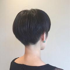 ショート 大人女子 ベリーショート ショートボブ ヘアスタイルや髪型の写真・画像