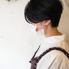 ヘアカット ナチュラル 似合わせカット ハンサムショート ヘアスタイルや髪型の写真・画像