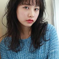 アンニュイ 外国人風 愛され ロング ヘアスタイルや髪型の写真・画像