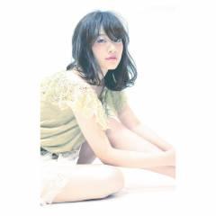 フェミニン モテ髪 ナチュラル ストリート ヘアスタイルや髪型の写真・画像