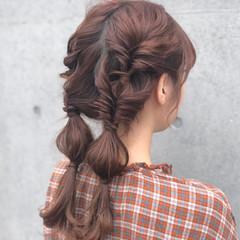 ロング ヘアアレンジ 表参道 アンニュイほつれヘア ヘアスタイルや髪型の写真・画像