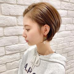 ショート 簡単ヘアアレンジ アンニュイほつれヘア デート ヘアスタイルや髪型の写真・画像