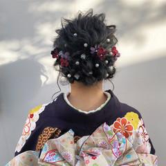 アンニュイほつれヘア ヘアアレンジ ガーリー ロング ヘアスタイルや髪型の写真・画像