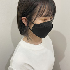 韓国風ヘアー インナーカラー イヤリングカラー 韓国ヘア ヘアスタイルや髪型の写真・画像
