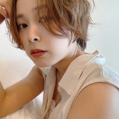 ショート ショートヘア 小顔ショート 大人ショート ヘアスタイルや髪型の写真・画像