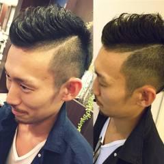 ショート モード ボーイッシュ メンズ ヘアスタイルや髪型の写真・画像