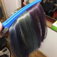 ハイライト ショート 外国人風 アッシュ ヘアスタイルや髪型の写真・画像