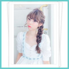 ロング フェミニン ガーリー ヘアアレンジ ヘアスタイルや髪型の写真・画像